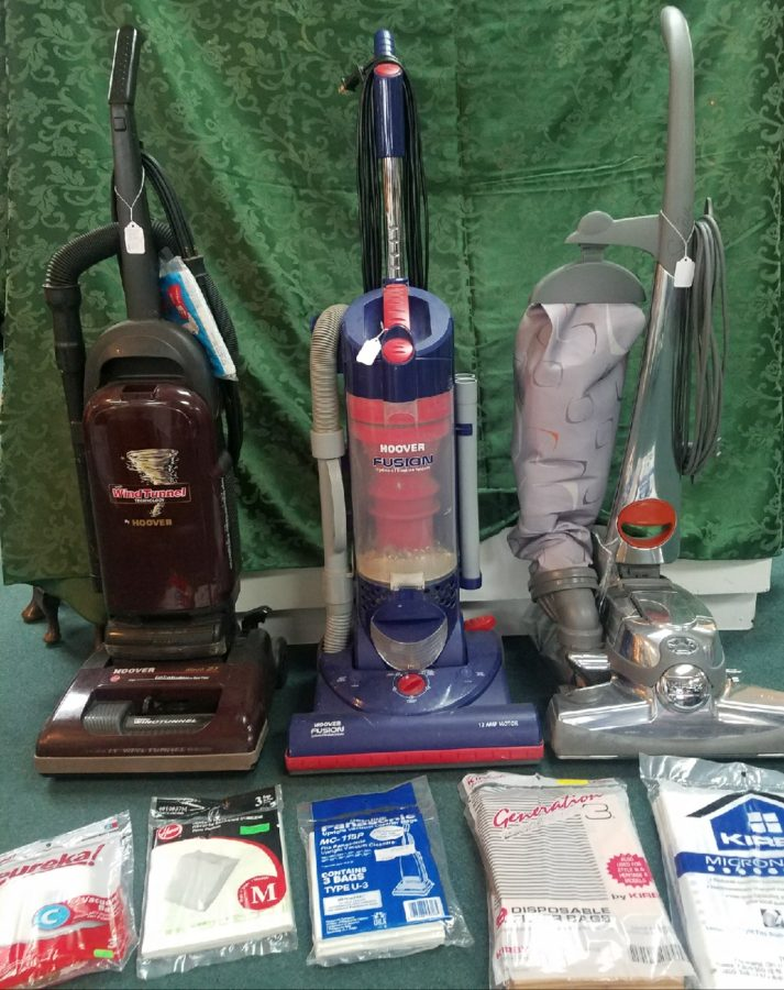 Vacuum and bags and parts